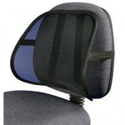 PrimeTrendz TM Cool & Breathable Mesh Support - Car Home Office Chair Pain Relief Travel