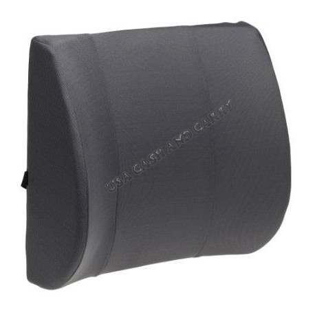 PU Lumbar support for home, office other other chair in Black