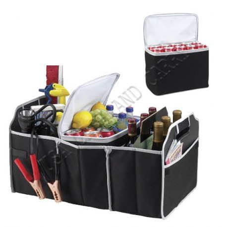 Trunk Organizer with Cooler (2 in 1 Set)