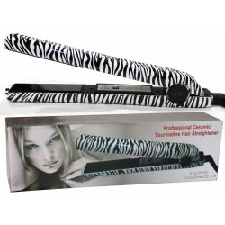 Zebra Print Hair Straightener